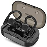 HolyHigh Auriculares Bluetooth 5.0, Auriculares Inalámbricos Deportivos In Ear IP67 Impermeable...