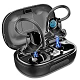 LYCHL Auriculares Inalambricos Deportivos, Auriculares Bluetooth 5.0 Sport IP7 Impermeable Cascos...